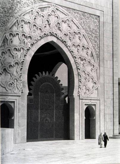 Alá es grande (Casablanca) Arquitectura e interiorismo Blanco y Negro (Química)