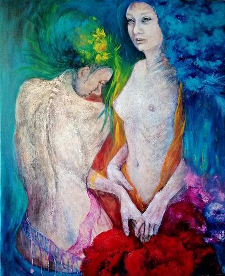 El encanto Nude Paintings Oil Canvas