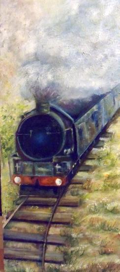 el tren de la vida I Bodegones Óleo Tela