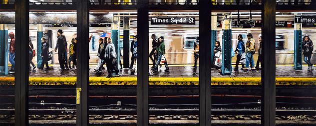 New York #34 Tabla Otros Paisaje