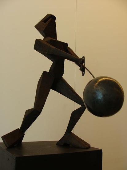 lanzamiento de martillo Otros Figurativa