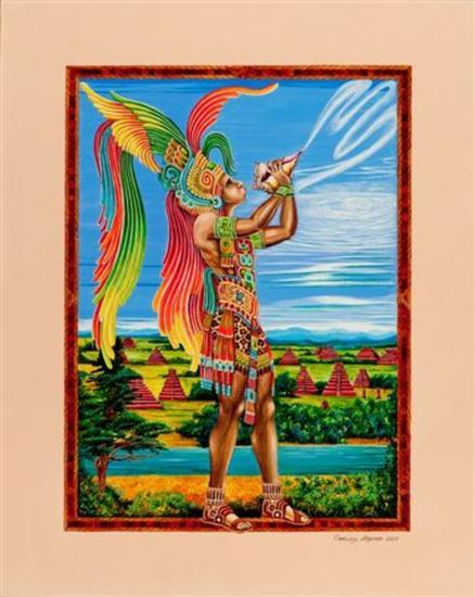 Hurakán. Dios del viento Tinta