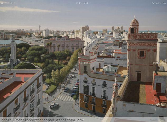 Cadiz vista desde las 4 torres