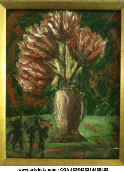 flores Floral Óleo Lienzo