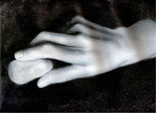 mano Pastel Papel Otros