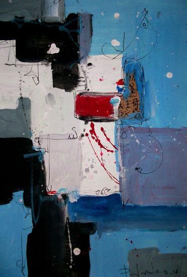 Abstract # 103 paper collection Acrílico Otros Papel