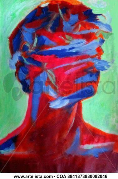 Long Ago Portrait Acrylic Canvas