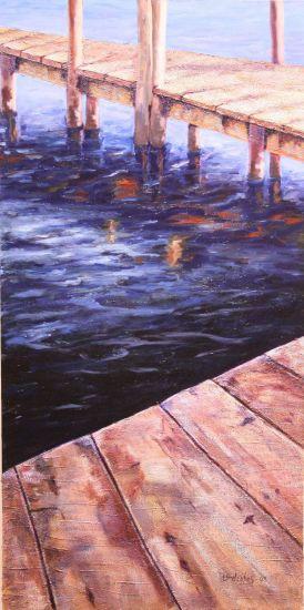 El Embarcadero Otros Lienzo Marina