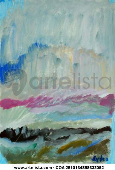 paisaje Card Acrylic Landscaping