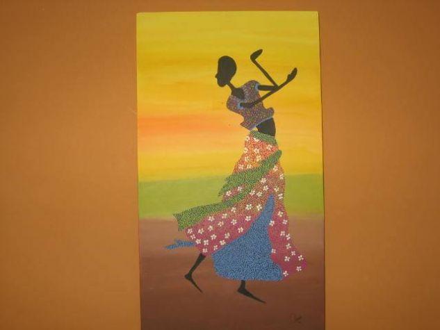 Mujeres Africanas Acrílico