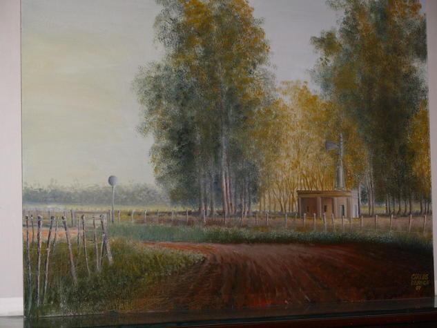 paisaje de camino a ranchos