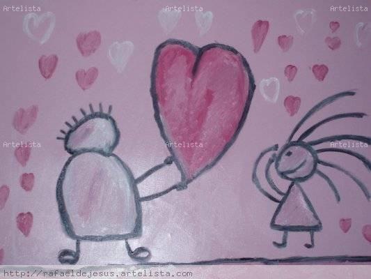 Dar Amor Óleo Lienzo Otros