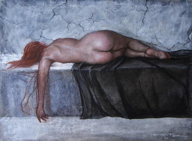 Dentro del sueño Desnudos Otros Tela