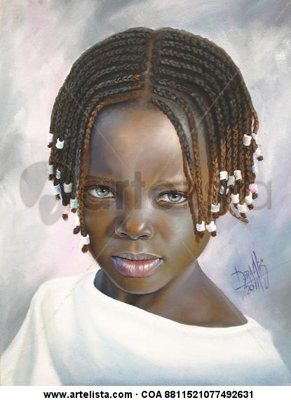 niña de raza negra 38