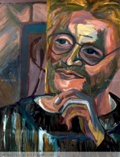 homem jovem2 Acrílico Papel Retrato