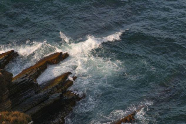Piedra Y mar Naturaleza Color (Digital)