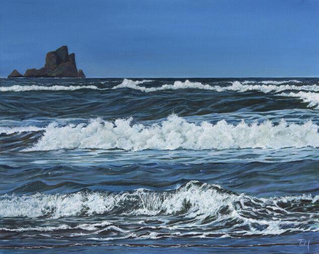 Olor a sal Marine Painting Oil Canvas
