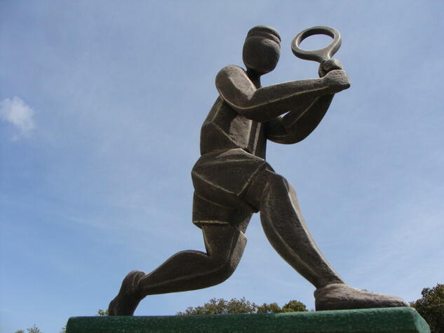 jugador de tenis 2 Figurativa Otros