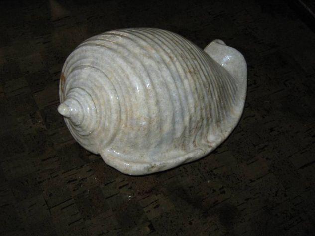 CARACOL EN ROCA  Piedra Figurativa