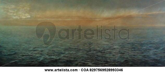 Cielomar (Planeta Agua) Tabla Lápiz (a color) Paisaje