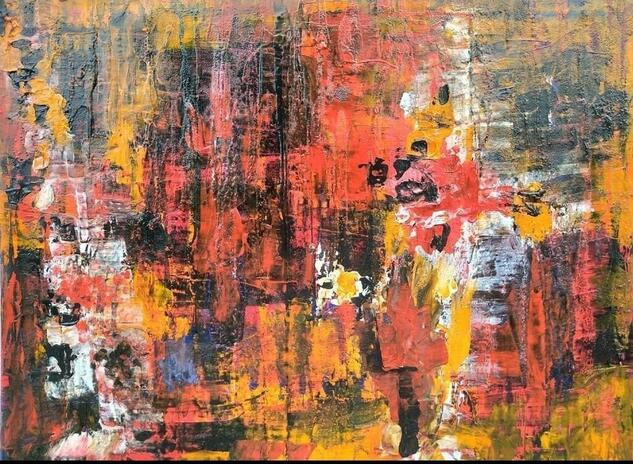 Viento (Wind) Others Gouache Canvas