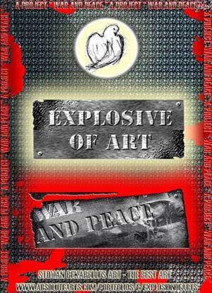 "POSTER OF THE ART PROJECT ""WAR and PEACE"" Otros Otros Otros"