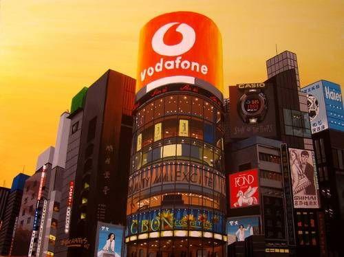 Ginza, Tokyo #3 Tabla Otros Paisaje