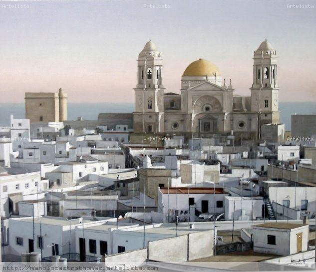 Azoteas y catedral de cadiz