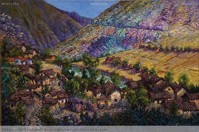 Cusibamba Alto Paruro Artista Efrain Aranibar Alvarez