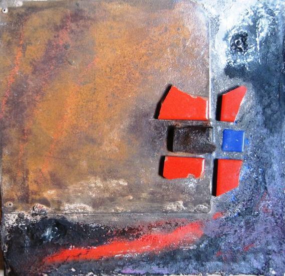 SERIE: AL FINAL DE LA TARDE 12-12 Mixta Abstracta