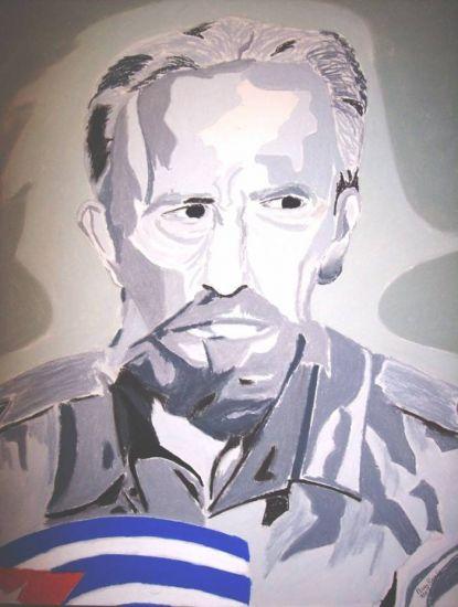 Fidel Castro Ruz, El Otoño del Patriarca I Pastel Cartulina Figura