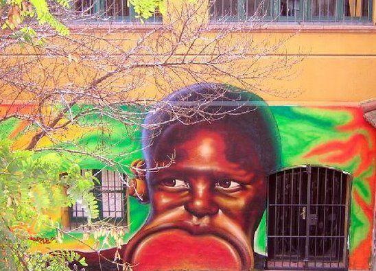 Mural_Técnica-aerosolgrafia-graffiti-decorativo Otros Otros Retrato