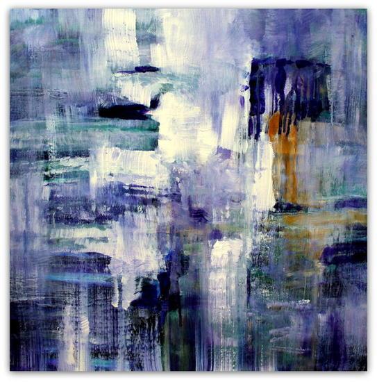 Blue wall, 2016 Lienzo Acrílico Otros