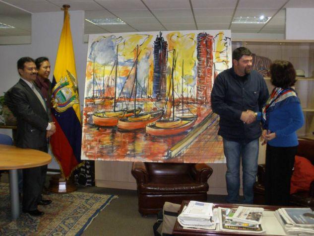 Exposicion en Ecuador