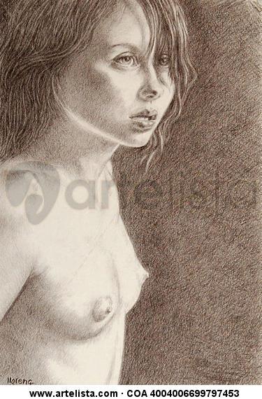 Modelo (Anna) Pencil