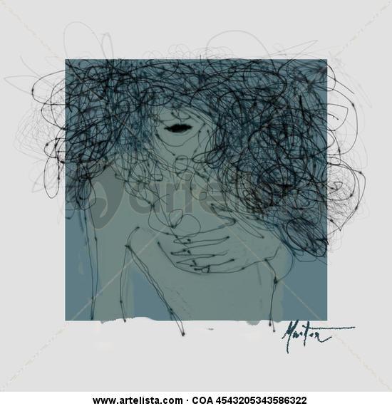RETRATO FEMENINO 01 Otros Media Mixta Retrato