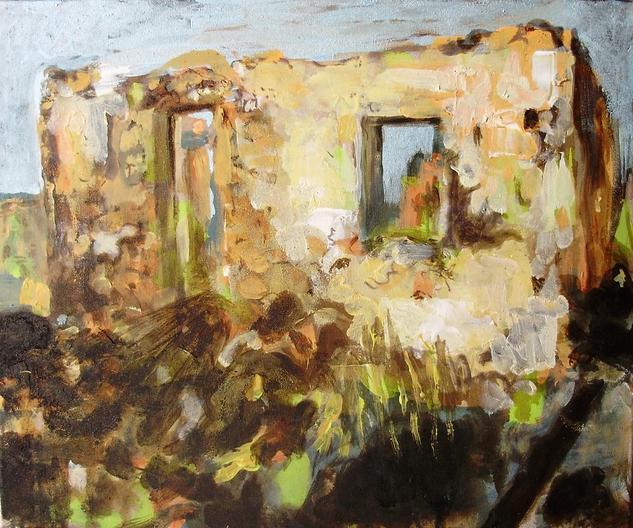 Hogar en ruinas. Canvas Others Landscaping