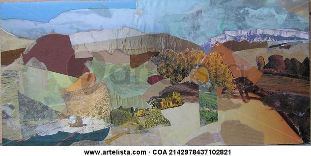 Paisaje secano Panel Landscaping