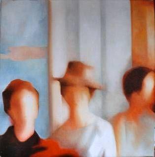 3 MUJERES Y UN SOMBRERO - Mercedes García Bravo - artelista.com