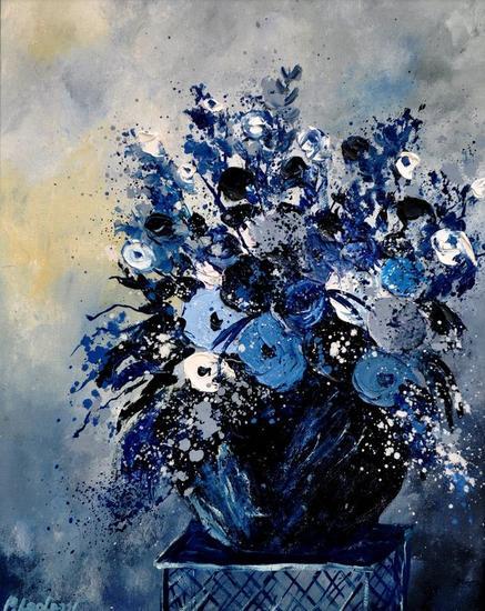 still life 4531 Tabla Óleo Floral