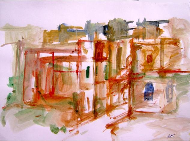 old city-7 Acrílico Papel Otros