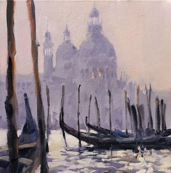 Venecia 2 Óleo Paisaje Lienzo