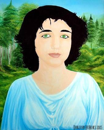 Beatriz Óleo Lienzo
