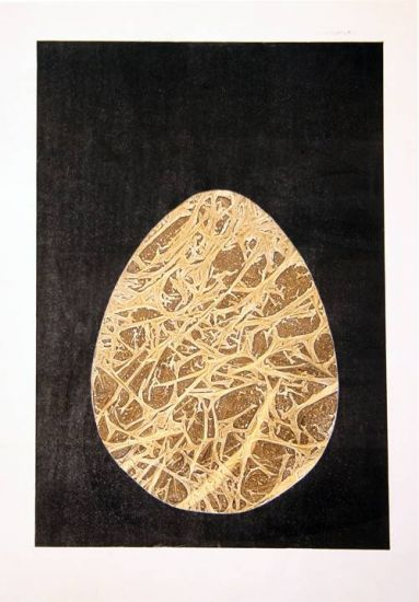 Huevo ancestral Monograbado