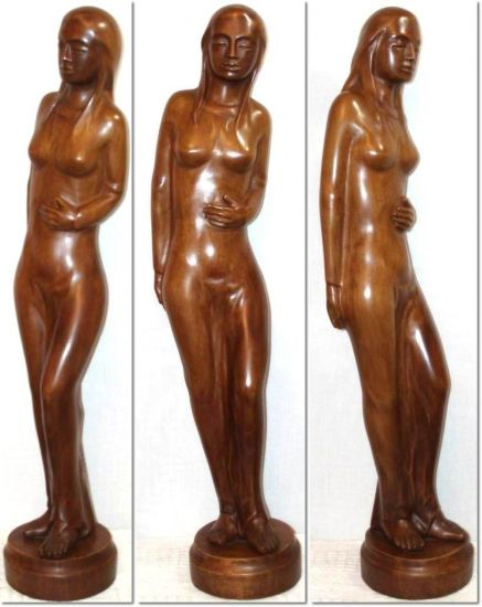 Desnudo femenino (13) Madera Figurativa