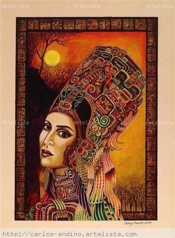 Obra de arte | Diseño de personaje femenino, Flamenco