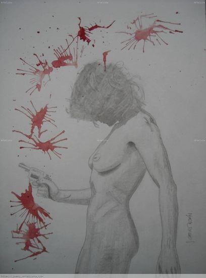 psicópata Acrílico Desnudos Papel