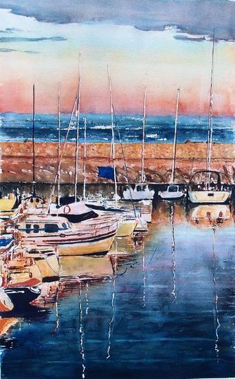 El Candado Marine Painting Watercolour Paper