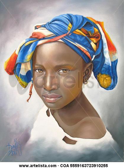 niña de raza negra 29