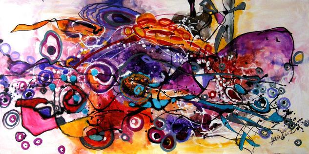 Carusel pentru delfini Others Canvas Oil